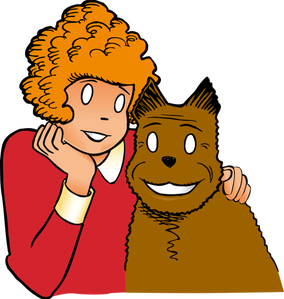 little orphan annie coloring pages - photo#33