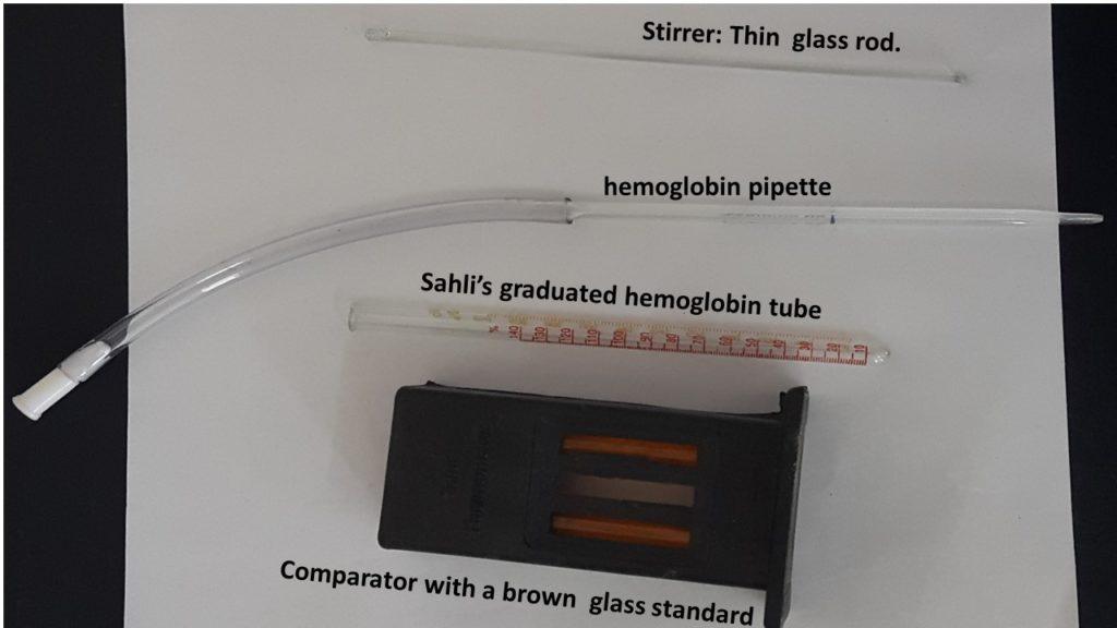 sahlis-hemoglobinometer